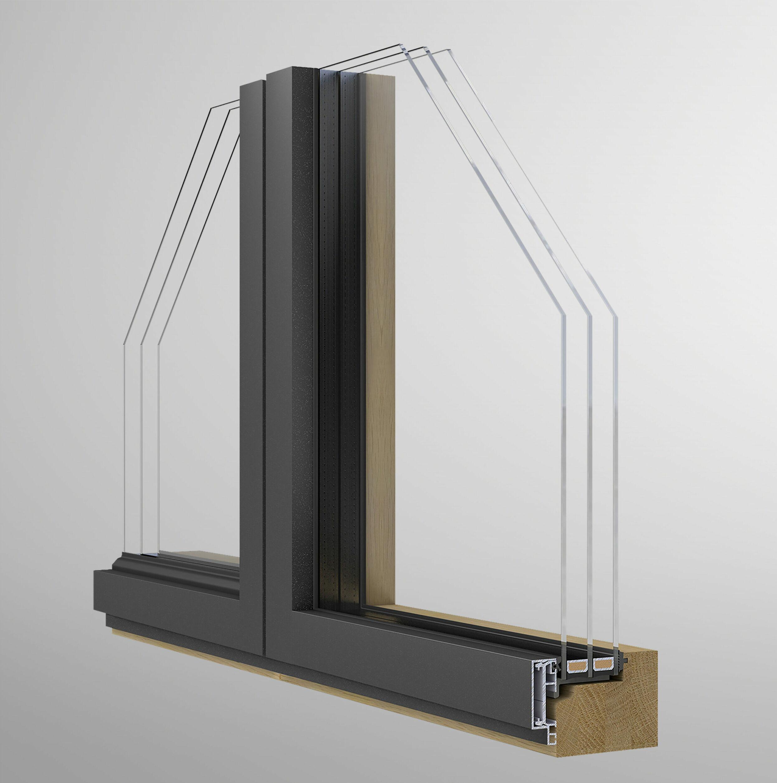 36mm Aluminium Deckschale